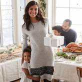 The White Company Lace Hem Knitted Dress