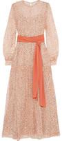 Jonathan Saunders Della Printed Silk-Chiffon Maxi Dress