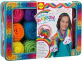 Alex Craft Crochet A Rainbow Scarf