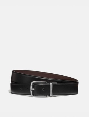 Coach Harness Buckle Cut-To-Size Reversible Belt, 32Mm