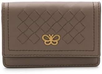 Bottega Veneta butterfly Intrecciato wallet