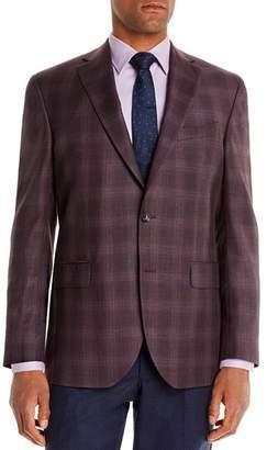 Jack Victor Plaid Regular Fit Sport Coat