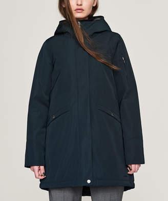 Elvine Dark Navy Angela Heavy Winter Jacket - Size M