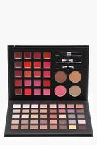 boohoo NEW Womens Face - The Complete Palette in Black size One Size