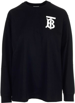 Burberry Monogram Motif Long-Sleeved T-Shirt