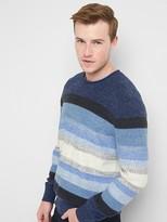Gap Stripe roll-neck sweater