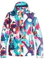 Roxy SNOW Women's Jetty Printed Regular Fit Jacket