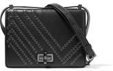 Diane von Furstenberg 440 Gallery Les Eyelet-Embellished Leather Shoulder Bag