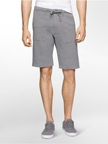 Calvin Klein Heathered Terry Lounge Shorts