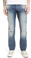 PRPS Men's Demon Protest Vote Slim Straight Leg Jeans
