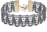 Sole Society Thick Metallic Choker
