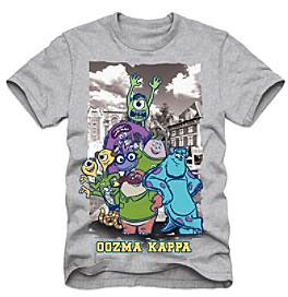 Disney Boys' 4-7 Grey Short Sleeve Monsters University Oozma Kappa Tee