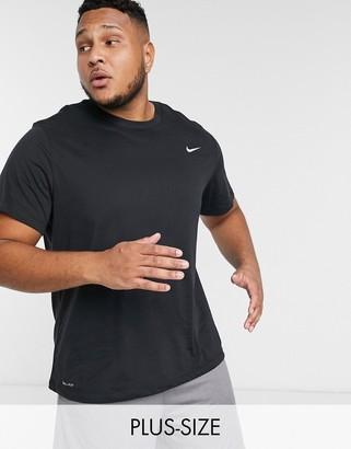 Nike Training Plus t-shirt in black
