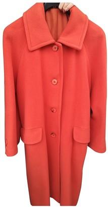 No Name Orange Wool Coat for Women