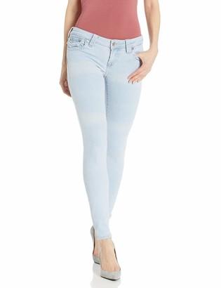 True Religion Women's Halle Big T Skinny Leg fit Jean with Back Flap Pockets