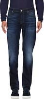 Care Label Denim pants - Item 42581563
