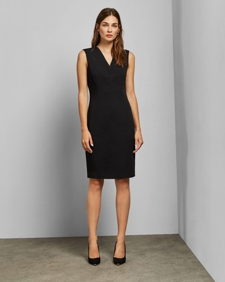 Ted Baker SALOTED V neck pencil dress