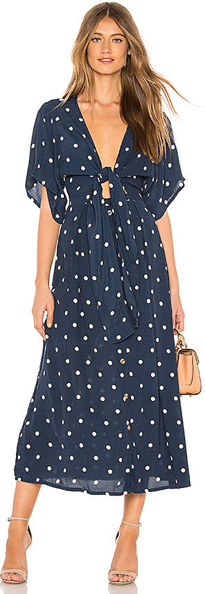 Faithfull The Brand X REVOLVE Magda Midi Dress