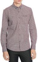 Kenneth Cole New York Chest Pocket Checked Sportshirt