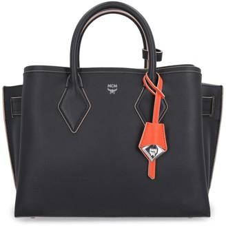 MCM Milla Leather Handbag