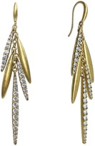 Nicole Miller Long Sweet Pea Drop Earrings