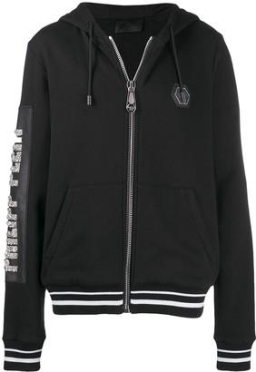 Philipp Plein Cowboy zipped hoodie