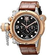 Invicta Men's 17347 Russian Diver Analog Display Swiss Quartz Brown Watch