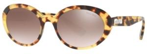 Miu Miu Sunglasses, Mu 01US 53