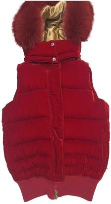 Pyrenex Red Velvet Coats