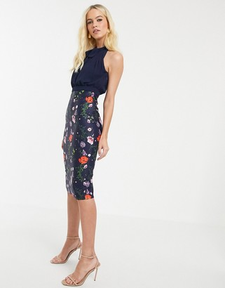 Ted Baker Shimma bodycon dress in hedgerow print