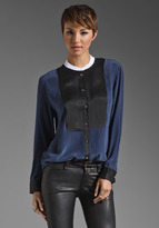 Equipment Tanner with Contrast Blouse
