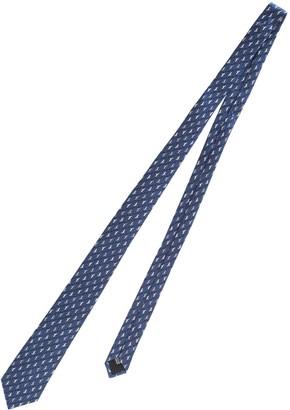 Lanvin Patterned Silk Tie
