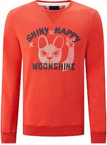 Scotch & Soda 'shiny Happy Moonshine' Graphic Sweatshirt, Hot Lips