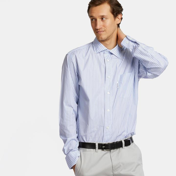 Façonnable Mntrasting Strip Button Down