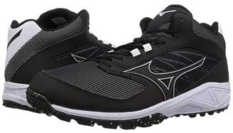 Mizuno Dominant As Mid (Black/White) Men's Shoes