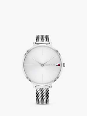 Tommy Hilfiger 1782163 Women's Project Z Mesh Bracelet Strap Watch, Silver