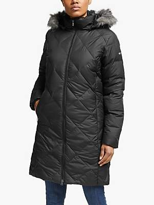 Columbia Icy Heights Mid Length Women's Insulated Jacket, Black