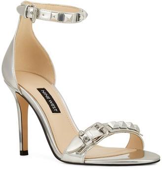 Nine West Mika Metallic Ankle Strap Sandal