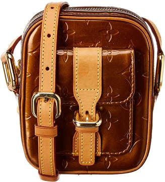 Louis Vuitton Brown Monogram Vernis Leather Christie Pm