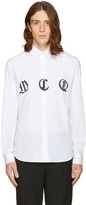 McQ by Alexander McQueen White Sheehan Shirt