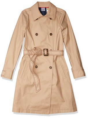 Tommy Hilfiger Women's Adaptive Trench Coat with Magnetic Closure