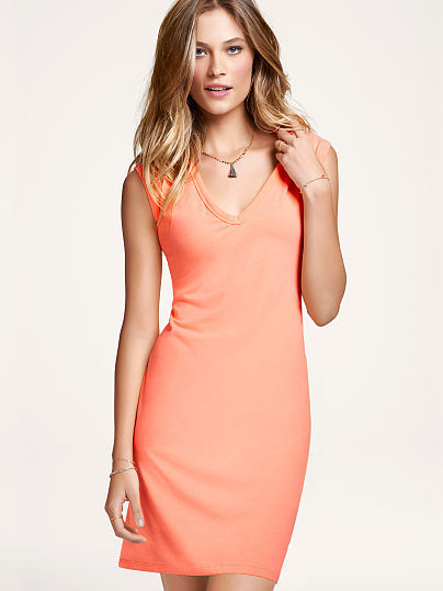 Victoria's Secret Essential Tees The V-neck Dress