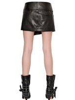 Isabel Marant Nappa Leather Mini Skirt