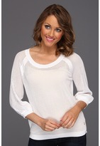 Juicy Couture Catalina Pullover (White) - Apparel