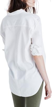 Madewell Drapey Oversize Boyshirt