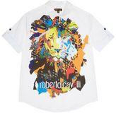 Roberto Cavalli Lion Print Shirt
