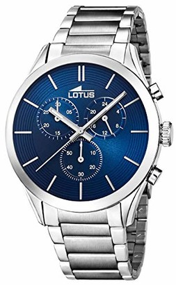 Lotus Men's Analogue Quartz Watch with Stainless Steel Strap 18114/5
