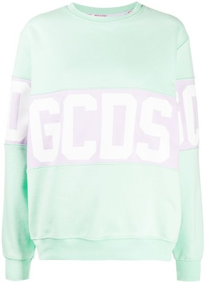 GCDS Logo Print Jumper