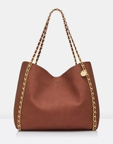 Forever New Libby Slouch Chain Tote Bag