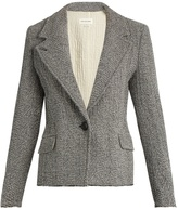Etoile Isabel Marant Ela raw-hem herringbone jacket